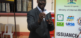 Minister Aronda Says e-passports will help in fight against Terrorism