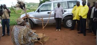 Lamogi Chief Seeks gods Protection For Museveni Car