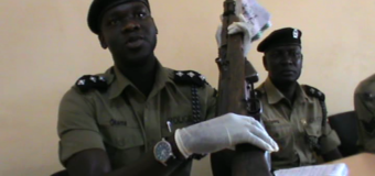 Gulu Police Recovers Two Guns From Suspected Robbers