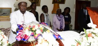 President Pays Respects To Late Prof. Alexander Mwa Odonga, E.A.'s first Surgeon