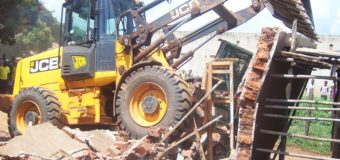 Pece Division Demolishes Illegal Structures