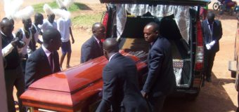 Gulu Pays Last Respect To Professor Odonga