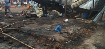 Elegu Fire Leaves 500 Homeless