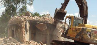 Gulu Municipal Authorities Pull Down St Luke ''Guest House''