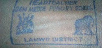 Lamwo Head-teacher in Trouble School Stamp in a Disco