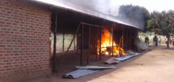 Irate  Gulu Mob Burn Church of Self-Proclaimed Prophet