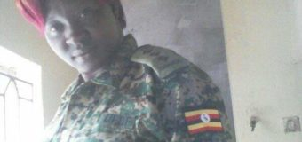 Gulu Female Pastor With Army Uniform