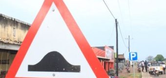 Unknown People Vandalize Road Signs, Bridge Rails in Nwoya