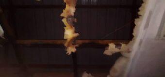 Gulu University Library Ceiling Razed by a Fire